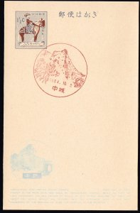 JAPAN RYUKYUS ISLANDS POST CARD FIRST ISSUE LOCAL CANCEL COLLECTION LOT #6