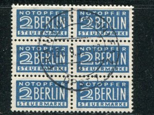 Berlin Michel 8x  block of 6   - Lakeshore Philatelics