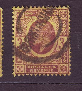 J23519 JLstamps 1911 great britain used #149 king