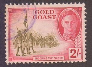 Gold Coast  1948   used  139      2s..    #