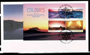 AAT  2015 Colours of the AAT FDC
