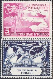 Trinidad & Tobago #66-69 MH