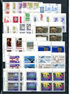 Matched sets of Plate Blocks- Below face value -  read  NH VF