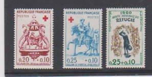 FRANCE#B347-B348-B340  (3)  STAMP MNH- LOT#F66