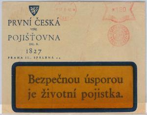 Czechoslovakia Bohemia and Moravia  POSTAL HISTORY - COVER 1940
