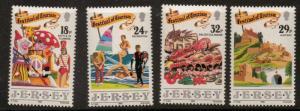 JERSEY SG521/4 1990 TOURISM MNH