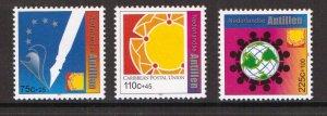 Netherlands Antilles   #B347-B349  MNH  2001  Caribbean postal union