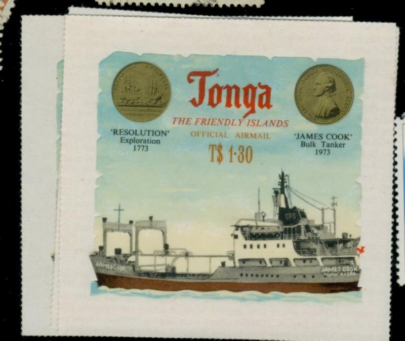 Tonga #CO72-4 MINT VF Cat$26