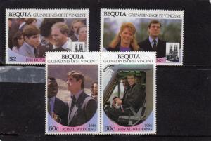 Bequia 1986 Royal Wedding  MNH
