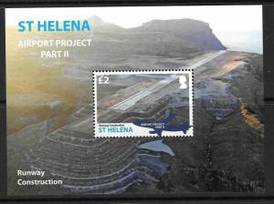 ST.HELENA SGMS1256 2016 AIRPORT PROJECT (series 11) MNH