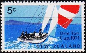 New Zealand. 1971 5c S.G.950 Fine Used