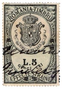 (I.B) Romania Revenue : Foreign Bill 5L