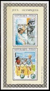 1972Chad534-35/B39Overprint - MUNICH 7216,00 €