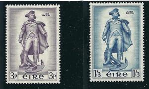 Ireland 155-56 SG 162-3 John Barry MNH VF 1956 SCV $14.00