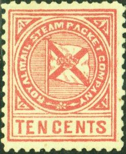 Danish West Indies #LX1   Mint NG