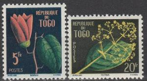 Togo #348-9  MNH F-VF  (V4416)