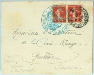 86864 - FRANCE - POSTAL HISTORY - FELDPOST Field Military mail COVER 1914