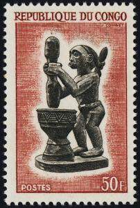 Congo PR 116 MNH - Carved Figure
