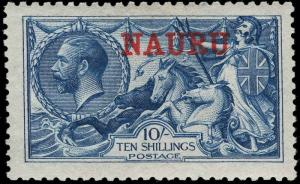 Nauru Scott 15e Gibbons 23d Mint Stamp