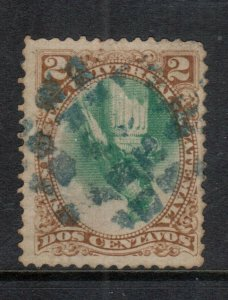 Guatemala #22a Very Fine Used Inverted Center