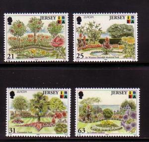Jersey Sc 897-0 1999 Europa Parks stamps NH