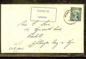SARAWAK (P1106B) 2C SINGLE FRANK CENSORED TO ENGLAND