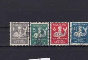NETHERLANDS  1929 CHILD WELFARE  USED STAMPS CAT £20   R2640