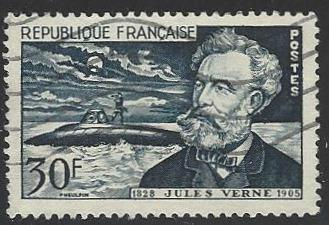 France #770 Used Jules Verne (U1)