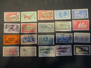 French Colonies / Area Assortment -  Hinged- (5D4) WDWPhilatelic #7