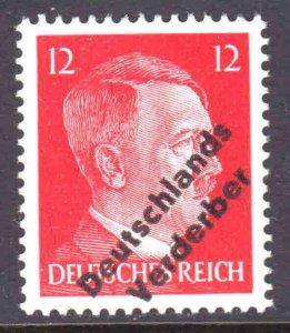 GERMANY 511B 1945 DEUTSCHLANDS VERDERBER OVERPRINT OG NH U/M VF