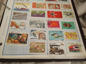 collection lot group of stamps vietnam years vary world collection