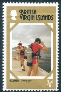 British Virgin Islands Sc#327   MH