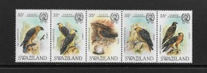 BIRDS - SWAZILAND #427  MNH