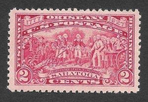 Doyle's_Stamps: Attractive  MH 1927 2c Saratoga Surrender, Scott  #644*