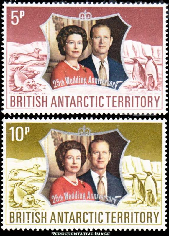 British Antarctic Territory Scott 43-44