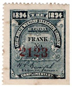(I.B) Canada Telegraphs : Great North Western (1894)