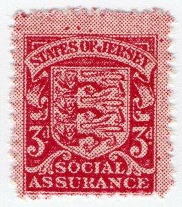 (I.B) Jersey Revenue : Social Insurance 3d (German Occupation)