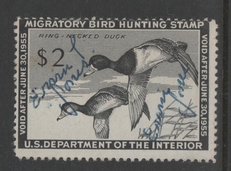 USA DUCK STAMPS USED scott RW21 259  0718