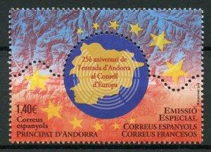 Spanish Andorra Stamps 2019 MNH EU European Union Council of Europe 1v Set