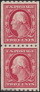 391 Mint,OG,H... Pair... SCV $110.00