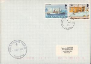 British Antarctic Territory #131, Antarctic Cachet and/or Cancel