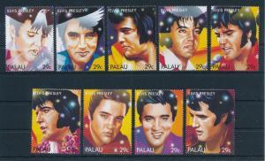 [75177] Palau 1992 Music Elvis Presley  MNH