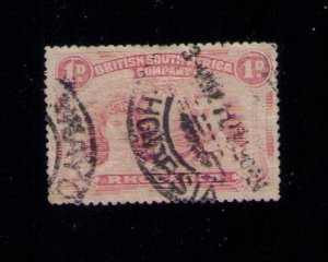Rhodesia Sc #102 Used