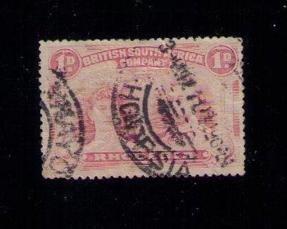 Rhodesia Sc #102 Used