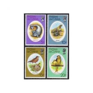 Tristan da Cunha 251-254,MNH. Marine animals 1979:Elephant,Fur Seals,Birds.