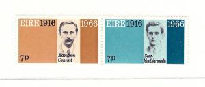 Ireland, 211a, Easter week Rebellion Pair, MNH