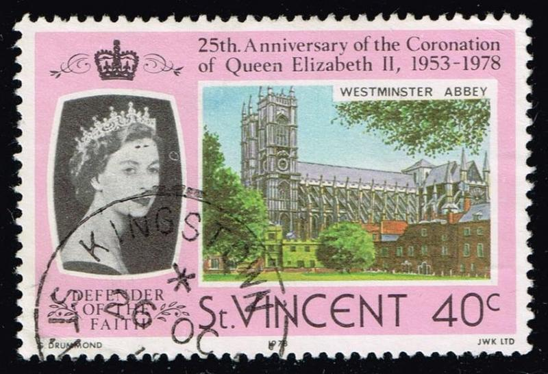 St. Vincent #528 Westminster Abbey; Used (0.25)