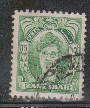ZANZIBAR Scott # 232 Used