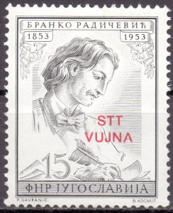 Yugoslavia. 1953. 734. writer. MNH.