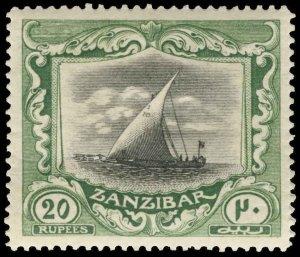 Zanzibar Scott 135 Gibbons 260b Mint Stamp